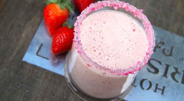 Aardbeien Milkshake